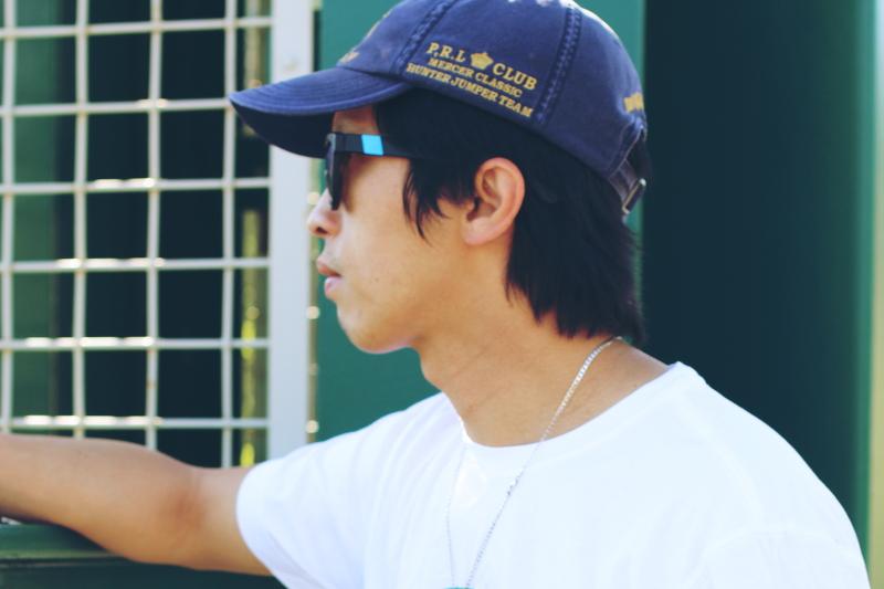 Casual-white-tee-ralph-lauren-cap-westward-leaning-sunglasses-5