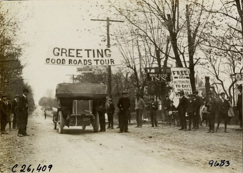 1909 Greetings Good Roads Tour Wayside Inn