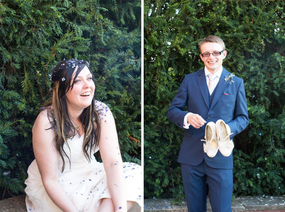 9 chrissy and dan wedding confetti