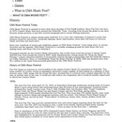 CMA Music Fest history-1 of 5-formerly Fan Fair-from GAC-TV page-country music-06-12-2009-