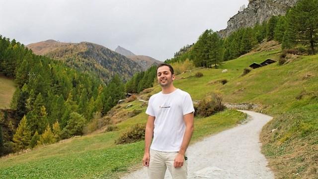 Zaid Mahomedy on Furi to Zermatt Trail travpacker.com