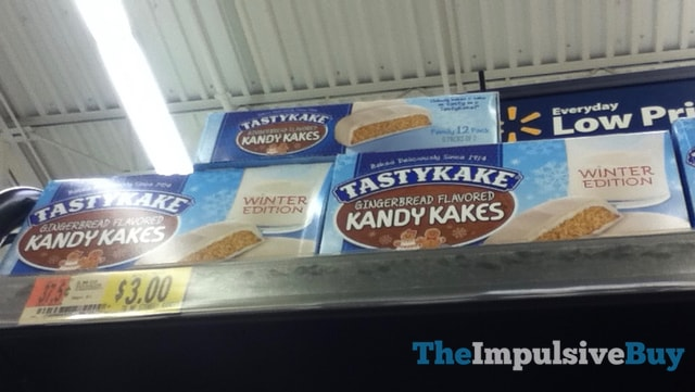 Tastykake Winter Edition Gingerbread Kandy Kakes