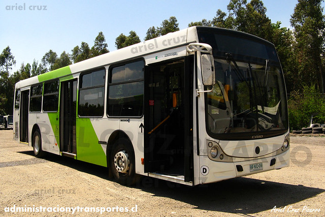 Transantiago - Metbus / Buses Metropolitana - Caio Mondego H / Mercedes Benz (BFKC39)