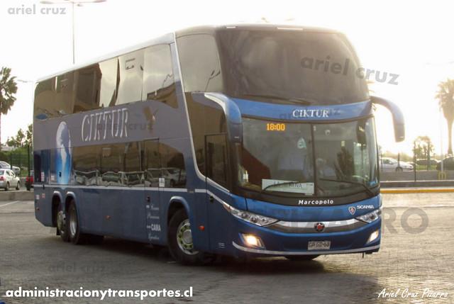 Ciktur | La Serena | Marcopolo Paradiso 1800 DD - Scania (GPGD68)