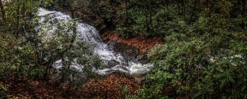 Cascade Lake Road Waterfall