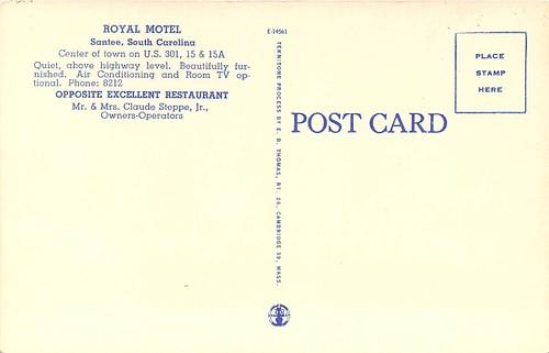 Royal Motel Santee back