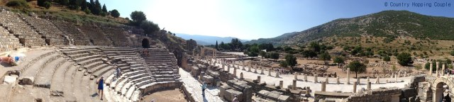 Panoramic Odeon Theatre-Ephesus-Turkey