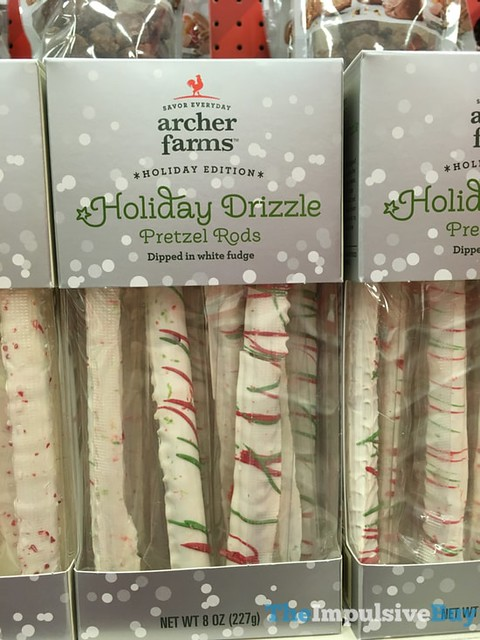 Archer Farm Holiday Edition Holiday Drizzle Pretzel Rods