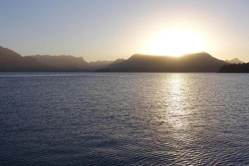 Lago Nahuel Huapi sunset