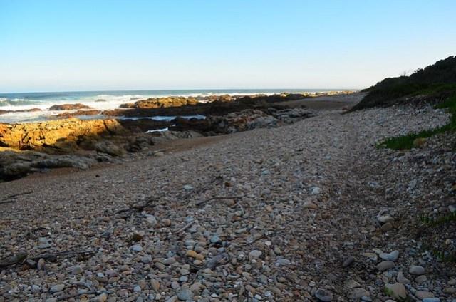 day 4 rocky beach after bloukrans