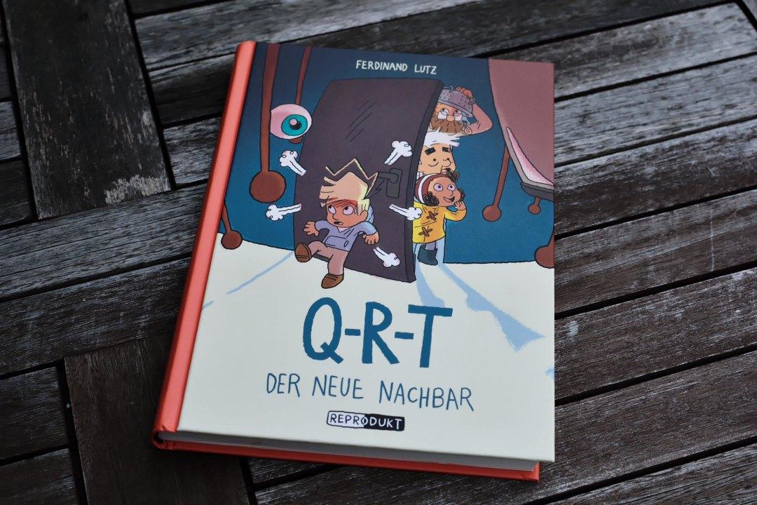 Q-R-T Comic
