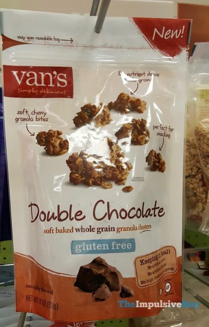 Van's Double Chocolate Soft Baked Whole Grain Granola Clusters