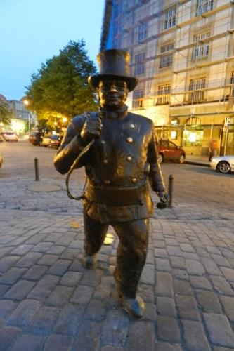 Esculturas en la calles Estonia 07