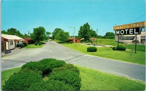 Tobacco Trail Motel Wilson NC front