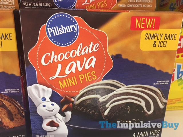 Pillsbury Chocolate Lava Mini Pies