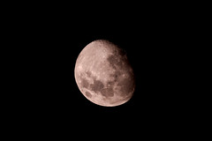 Moon from Hanmer