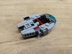 Mini Millennium Falcon Internal Structure