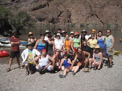 Group photo at Arizona Hot Springs