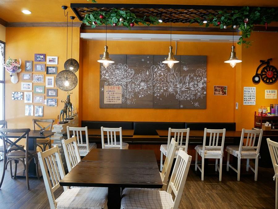 [桃園美食]花間鹿複合式餐廳|早午餐.義大利麵/燉飯專賣店~桃園火車站步行10分鐘 @VIVIYU小世界