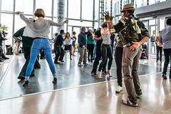 La Défense / Danse sur le temps de midi au 4 temps