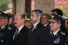 Ceremonia de Entrega de Bastones de Mando a Generales y  Almirantes recientemente ascendidos