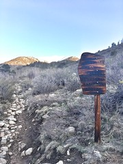 The start of the hike