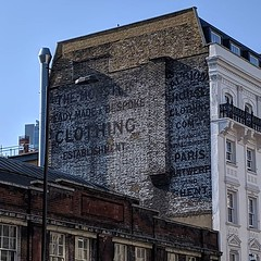 Ghost signage, Borough High Street
