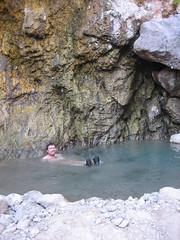 John in the hot springs