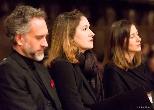 Oratorio de Noël de Bach avec Christian Immler et Annie Dufresne. Dir : Julien Laloux.