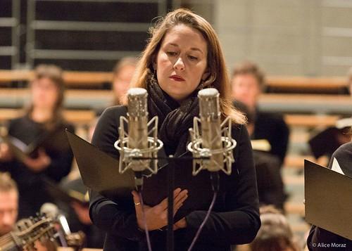 Oratorio de Noël de Bach à Lausanne. Dir : Julien Laloux.