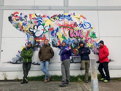 Murals of the bear - Longyearbyen