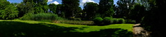 Panorama in the Botanical Garden Cologne