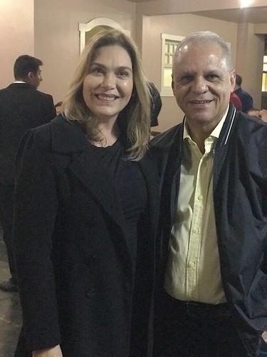 Leida Horst e Carlos Souto