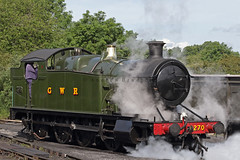 GWR 4200 Class 2-8-0T No 4270 - North Weald, Epping Ongar Railway, Essex