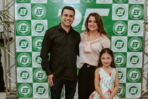 Luiz Filipe, Ana Olívia e a filhinha dela, Sofia