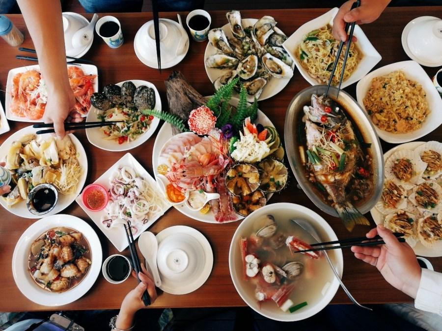 [花蓮美食]欣欣麵館|根本不僅是麵館的海鮮餐廳~花蓮市區無菜單料理.吃到快崩潰 @VIVIYU小世界