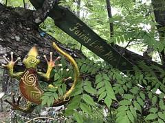 Fairy Trail in Cassadaga, Florida