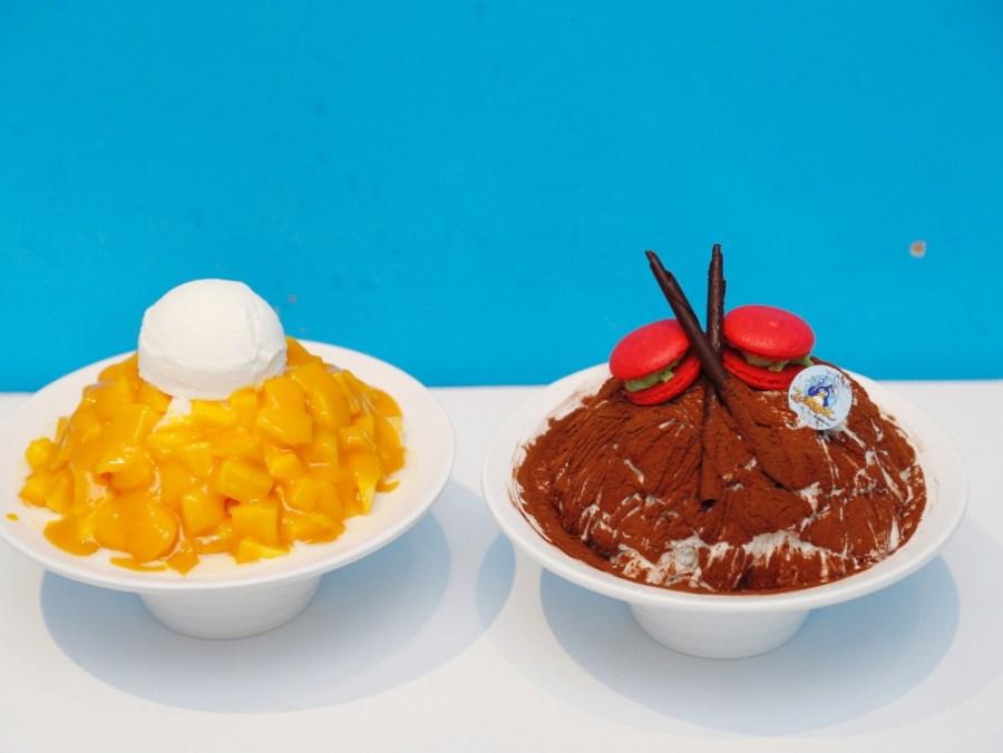 [花蓮美食]一心泡泡冰|花蓮市區創新口味~法式甜點口味雪花冰.提拉米蘇雪花冰 @VIVIYU小世界