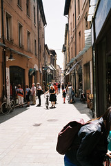 In the streets of Ferrara