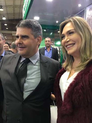 Paulo Brant e Leida Horst