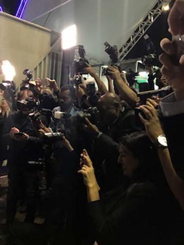 Fotógrafos em ação