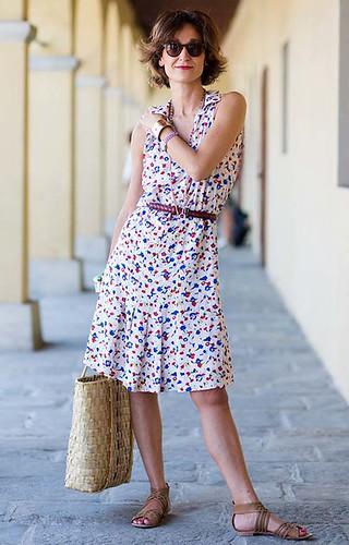 vestido estampadinho, perfeito para nosso verão