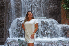 Picture Of Carolina Taken At Small New York City Waterfalls Park.  Photo Taken Tuesday August 20, 2019