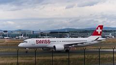 HB-JCI: Swiss Bombardier CS300