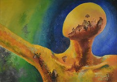 Pintura de mi tío José Miguel
