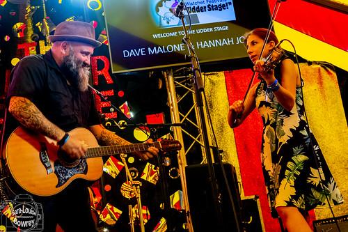 Davey Malone & Hannah Johns at Watchet Festival 2019