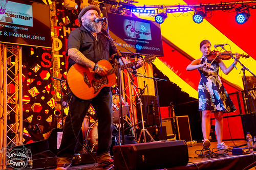 Davey Malone & Hannah Johns at Watchet Festival 2019