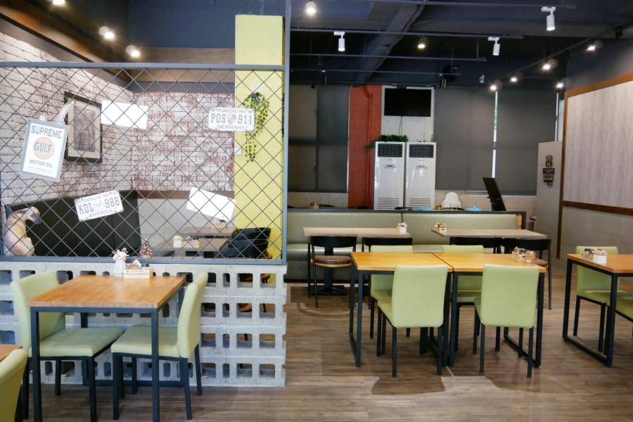 [桃園美食]AlleyMay五月巷.桃園藝文旗艦店 免費親子桌遊區~美式早午餐可自由組合.飲料可續杯 @VIVIYU小世界