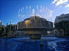 Fountain at Dizengoff Square in Tel Aviv