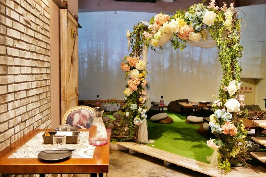 [桃園美食]梳子餐廳|中正藝文特區旁~時尚森林系蔬食餐廳.川味創意素食料理 @VIVIYU小世界